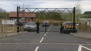 Security firm employed to guard new travellers' site