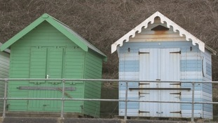 Slashing the rent on beach huts to attract visitors