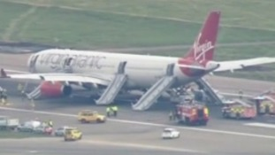 Emergency landing at Gatwick
