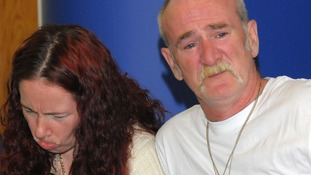 Mick Philpott and wife Mairead seen in 2011 speaking to the media