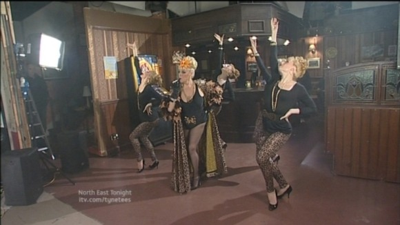 Julie Goodyear dancing