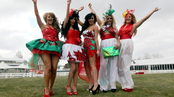Ladies Day The Grand National Liverpool