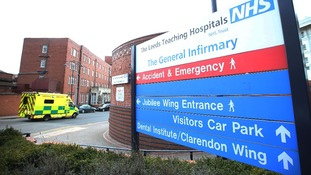 Leeds General Infirmary's children's cardiac unit was suspended last week
