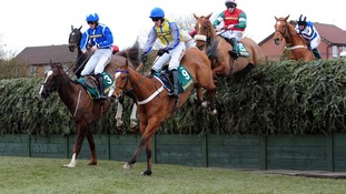 Thousands of racegoers will watch the drama unfold at Aintree today.