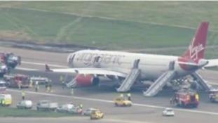 Emergency landing at Gatwick