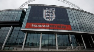 Wembley Stadium is the home of English football