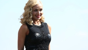 Katherine Jenkins during Grand National Day at Aintree Racecourse
