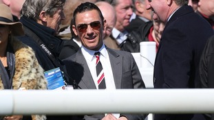 Jockey Frankie Dettori during Grand National Day