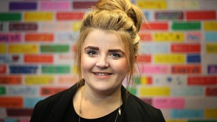 Paris Brown was unveiled as the UK's first youth police and crime commissioner on Wednesday.