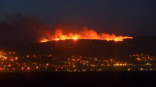 Dry weather led to a number of fires across Wales
