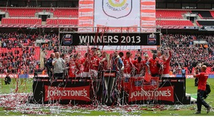 Crewe's History Boys do a Wembley Double