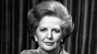 Margaret Thatcher, pictured in 1982.