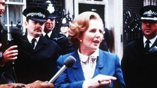 Former Prime Minister Margaret Thatcher in 1979.
