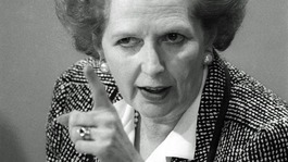 Margaret Thatcher in 1984.