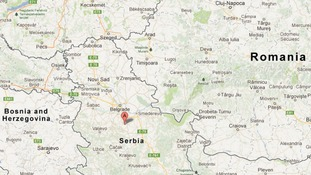 The village of Velika Ivanca is around thirty miles south east of Belgrade