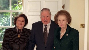 Baroness Thatcher and General Pinochet
