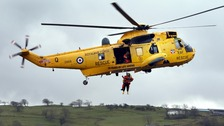 RAF rescue helicopter