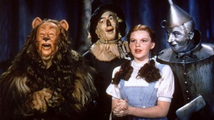 The main cast of the classic film 'The Wizard of Oz'.