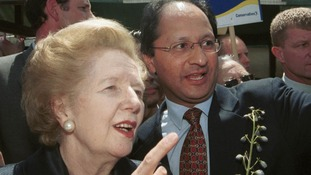 Shailesh Vara and Baroness Thatcher