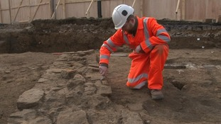 Excavation work in Northampton