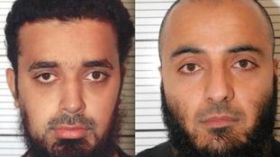 (Left to right) Bahader Ali and Mohammed Rizwan