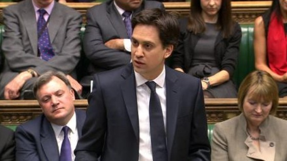 "Ed Miliband praised Thatcher for ""breaking the mould"""