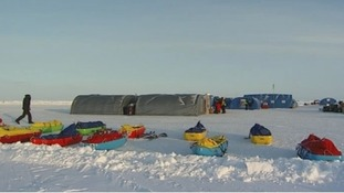 Camp Barnoe - the world's most northerly research base