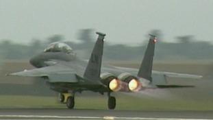 An F-15 at Lakenheath