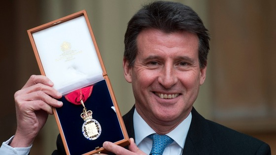 Lord Coe is following up on the Games' legacy in Leicestershire