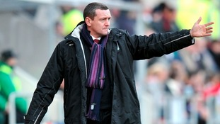 Northampton Town manager Aidy Boothroyd