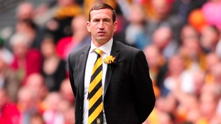 Justin Edinburgh at the FA Trophy final