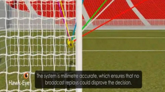 Hawk-Eye goal-line technology