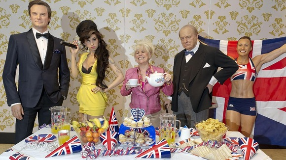 Babs Windsor reveals her ideal street party guests at Madame Tussauds today