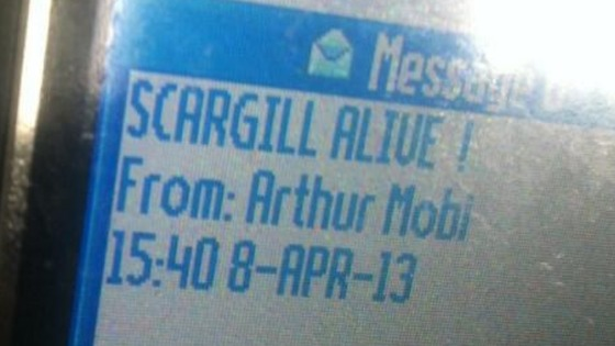 The response from Arthur Scargill after learning of Margaret Thatcher's death