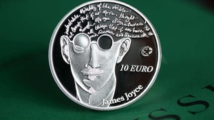 Limited addition James Joyce collector coin