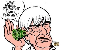 'Bernie Ecclestone: Deaf by convenience'
