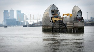 The Thames Barrier will be less effective at protecting London from storm surges as sea levels rise