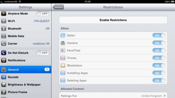 how to change 4 digit passcode on ipad