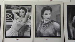 Pictures taken by the society photographer Angus McBean, are being sold at auction in Bury St Edmunds today