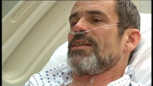 Head shot of Paul Conroy in London hospital