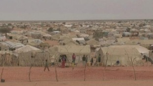 The Mbera refugee camp in Mauritania, home to 70,000 refugees according to UNHCR.