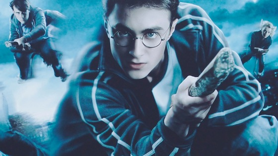 An image from The Making of Harry Potter promotion.