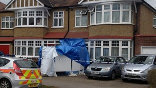 Three people were found dead at the house in Ruislip, west London