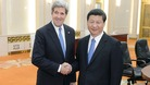US Secretary of State John Kerry met Chinese President Xi Jinping in Beijing today.