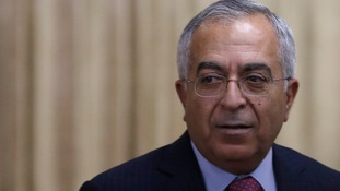 Palestinian Prime Minister Salam Fayyad has resigned his position.