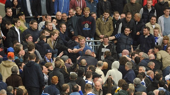The south London club has a reputation for football hooliganism