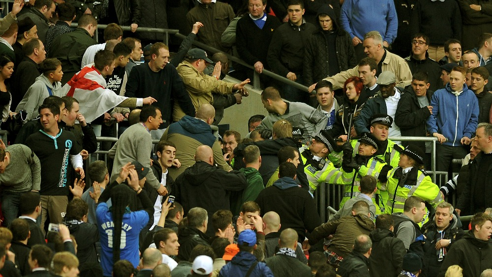 Police: 10 fans arrested following Millwall violence - ITV ...