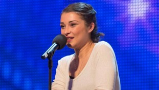 Alice Fredenham, 28, impressed Simon Cowell with her voice.