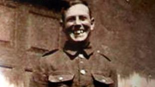 WWI soldier George Samuel