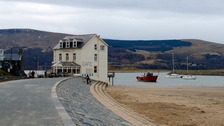 Cafe at Barmouth